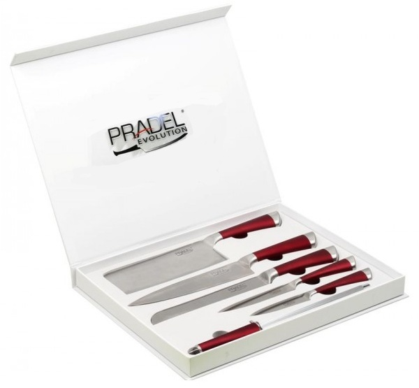 Coffret Pradel Evolution 6 pièces - couteaux C8216