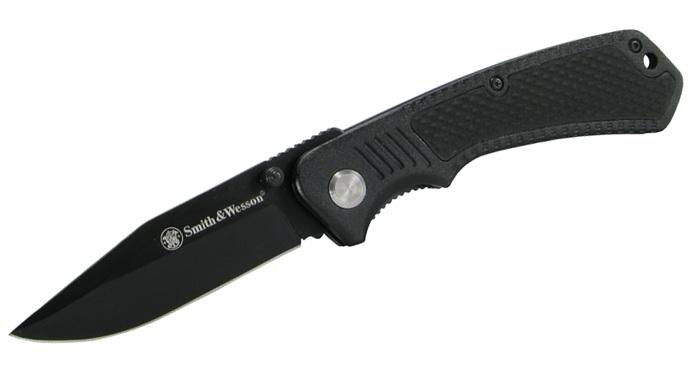 Couteau pliant Smith & Wesson - noir CH014