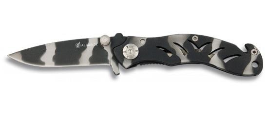 Couteau pliant 18cm camouflage - métal