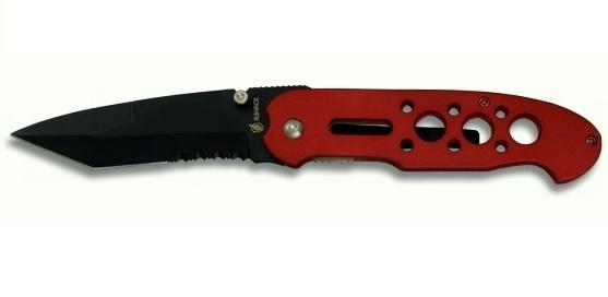 Couteau pliant 21cm de poche - pompier