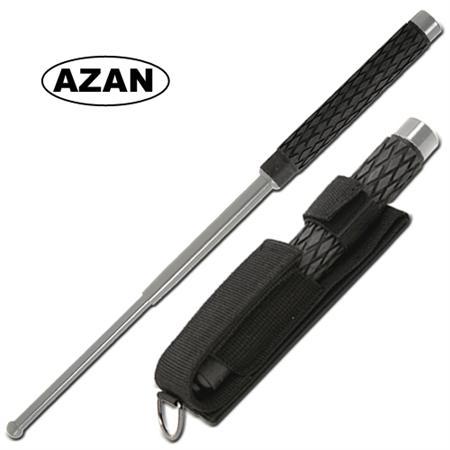 Matraque télescopique 41cm baton métal