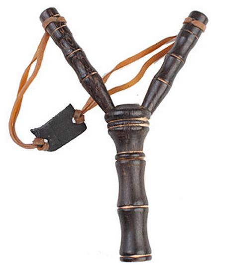 Fronde lance-pierre en bois 18,5cm (1)