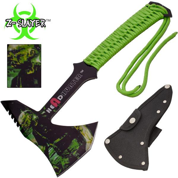 Hachette métal 30cm - hache zombie hunter