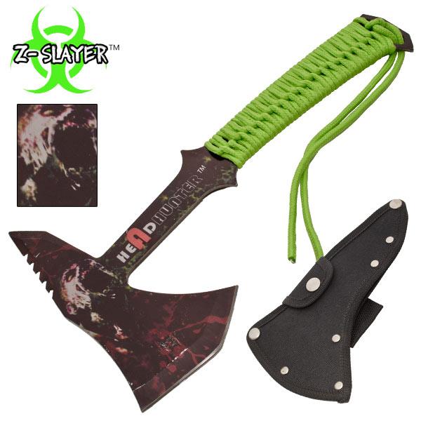 Hachette métal 30cm - hache zombie hunter2