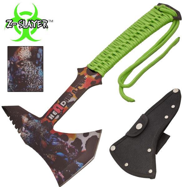 Hachette métal 30cm - hache zombie hunter4