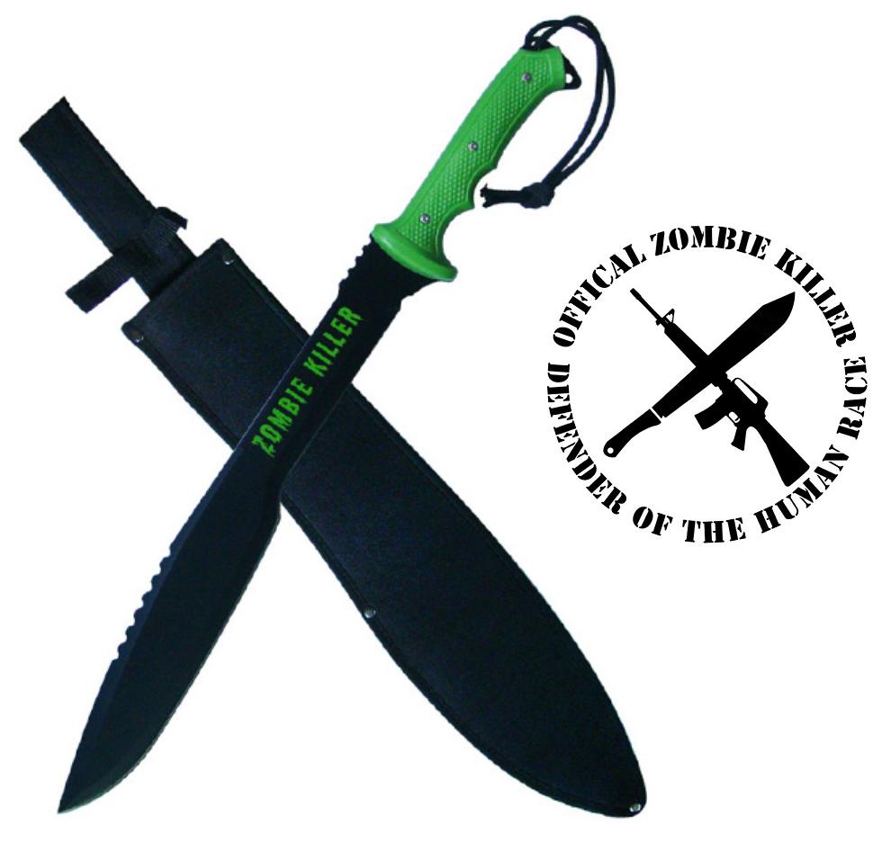 Epée Zombie Killer 63cm - katana full tang