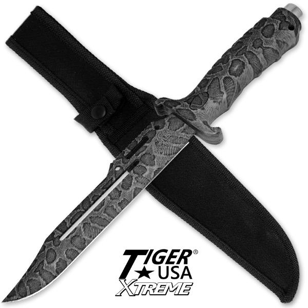 Poignard snake 33cm - couteau tactique
