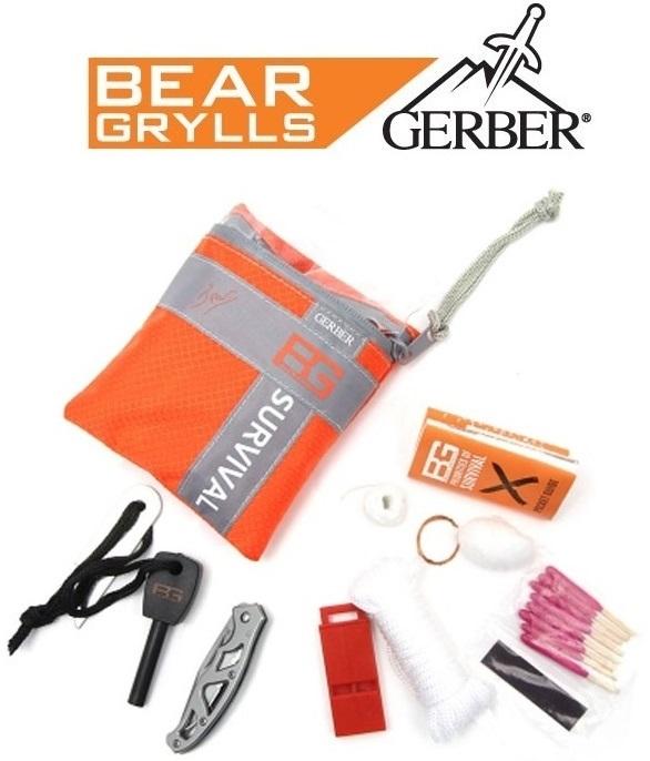 Kit de Survie basic GERBER Bear Grylls