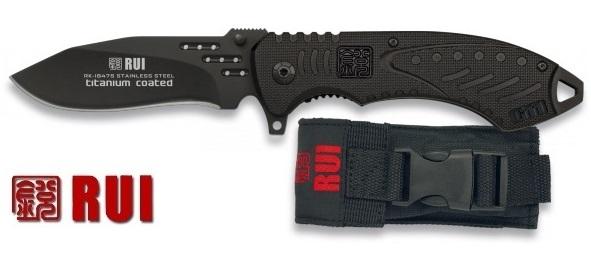 Couteau tactique titane G11 - RUI Tactical Knives