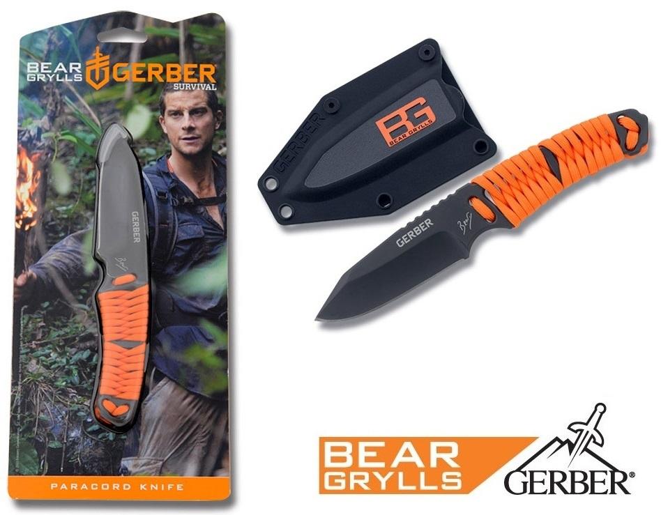 Couteau paracord GERBER Bear Grylls