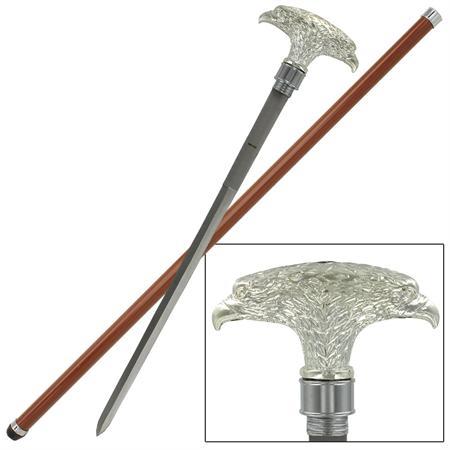Canne épée 89cm de marche - Aigle