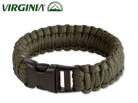 Bracelet en paracorde de survie - vert