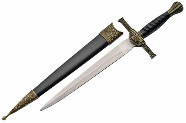 Dague 29,5cm Macleod Highlander - reproduction