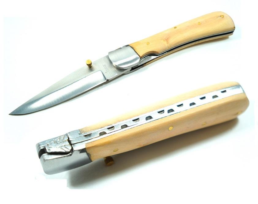 couteau pliant 21 5cm bois acier couteau pliant. Black Bedroom Furniture Sets. Home Design Ideas