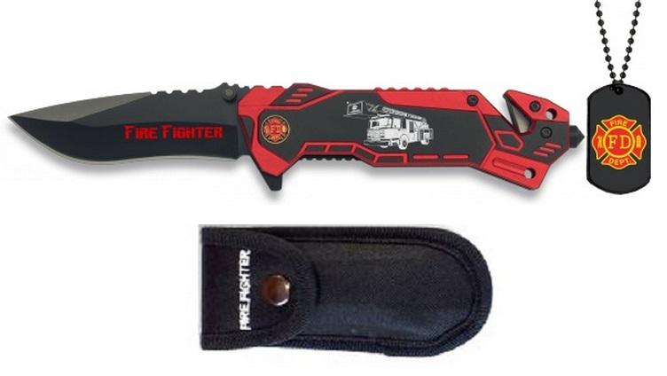 couteau de survie pompier