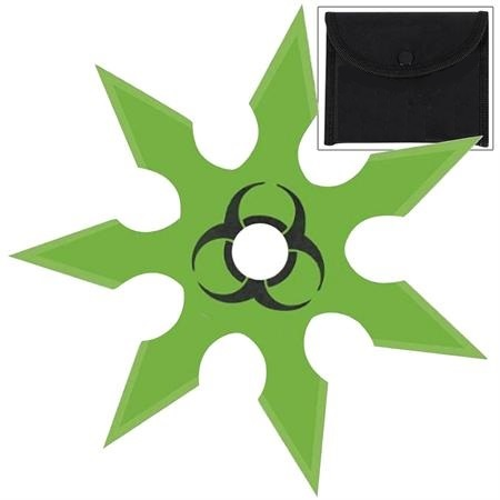 Shuriken étoile Zombie 9,8cm - acier inox