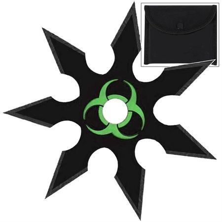 Shuriken étoile Zombie 9,8cm - acier inox2