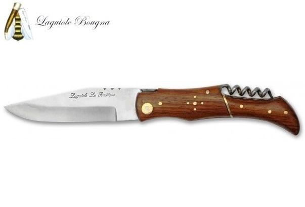 Couteau Laguiole chasse 21cm - bois palissandre