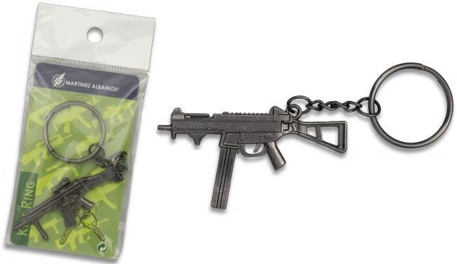 Porte-clé gun acier inox série 2 - Design original