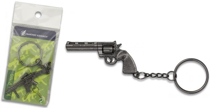 Porte-clé gun acier inox série 4 - Design original