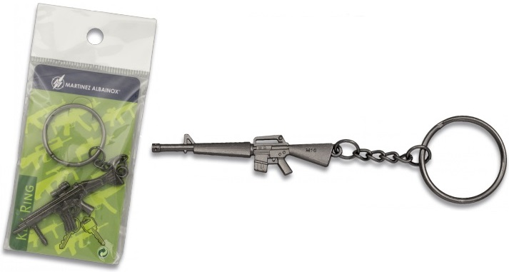 Porte-clé gun acier inox série 1 - Design original
