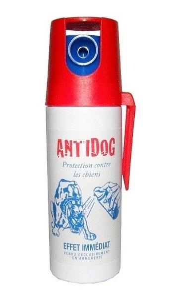 Bombe GEL POIVRE 50ml - Lacrymo anti chien