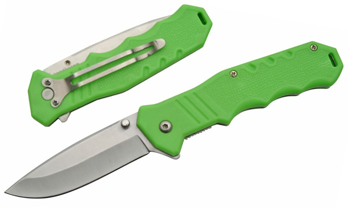Couteau pliant 19 cm - couleur tendance