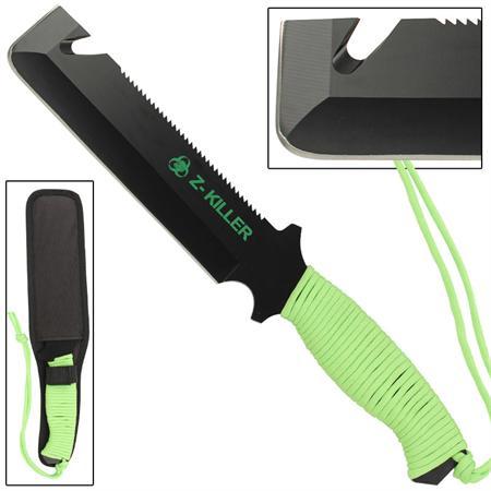 Machette portable 30,5cm Zombie Killer - Full tang