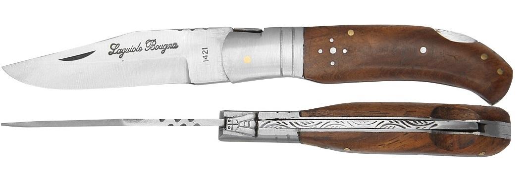 Couteau Laguiole chasse 21,5cm - bois palisssandre
