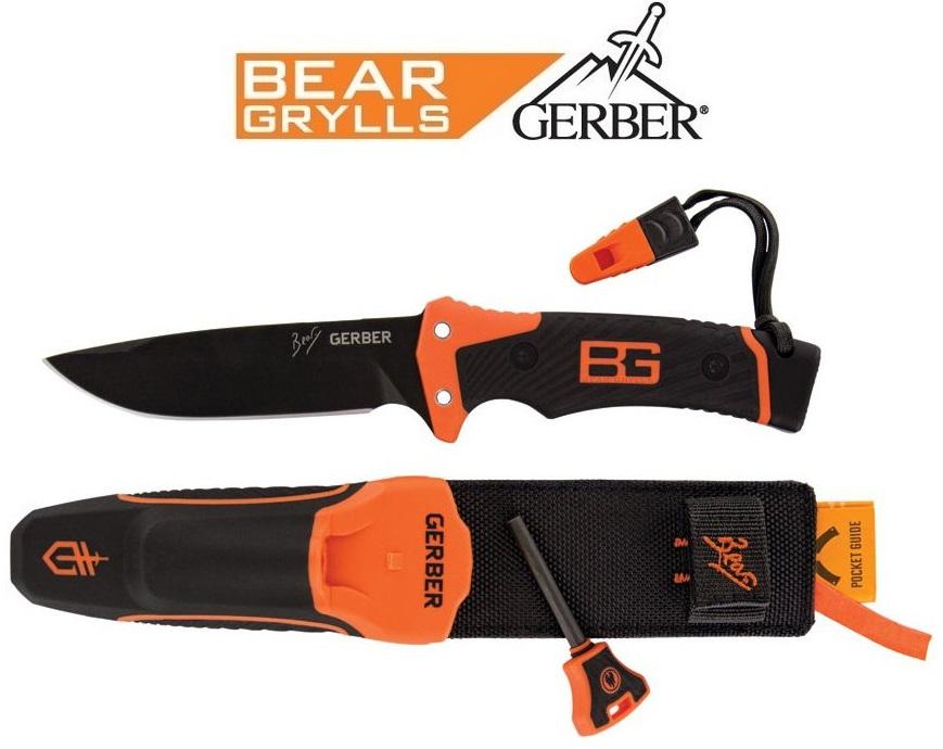 Poignard Ultimate Pro couteau - GERBER Bear Grylls
