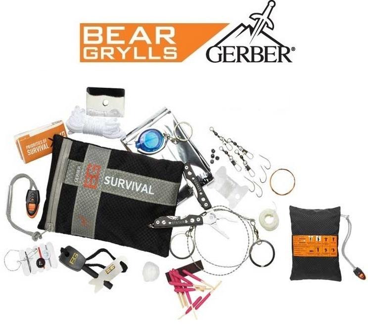 kit de survie ultimate 16 pi ces gerber bear grylls. Black Bedroom Furniture Sets. Home Design Ideas