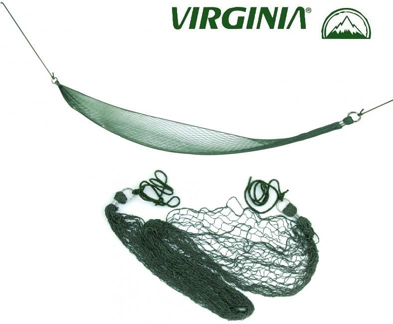 Hamac compact, filet en nylon 2,20m - Virginia.