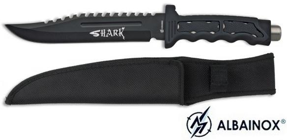 Poignard tactique 31cm Shark - Couteau