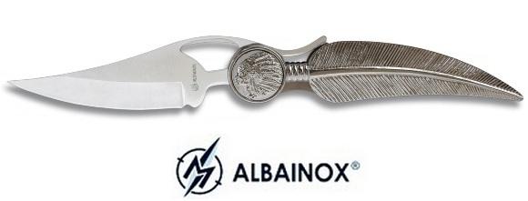Couteau Indien Plume 20cm - Albainox2