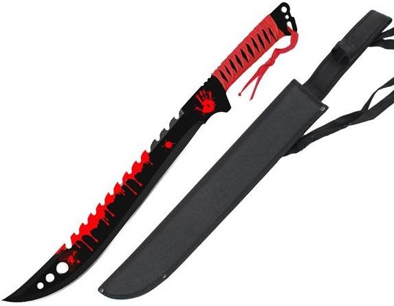 Machette p e eradicator zombie 63cm full tang acier ep es - Achat machette coupe coupe ...