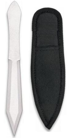 Couteau de lancer compact 13cm - Tout acier full tang