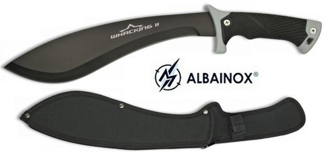machette coupe coupe 45 5cm kukri albainox machettes. Black Bedroom Furniture Sets. Home Design Ideas
