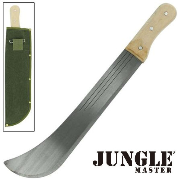 Machette coupe-coupe 54,5cm - full tang de tradition