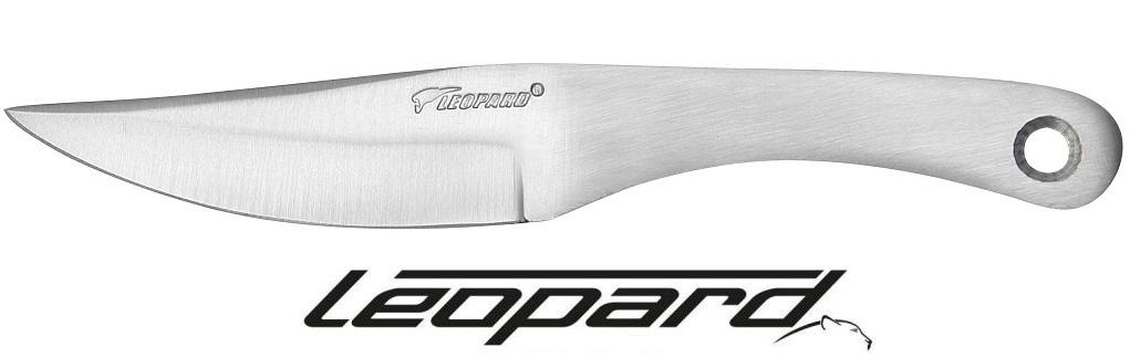 Couteau de lancer Leopard 16cm - Full tang acier inox