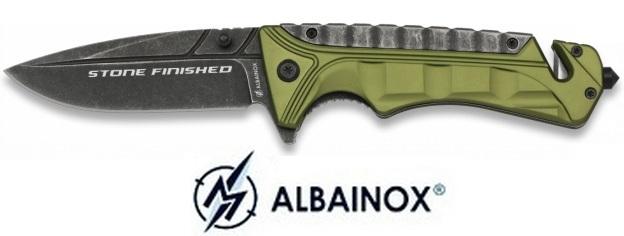 Couteau pliant 22cm finition pierre - ALBAINOX