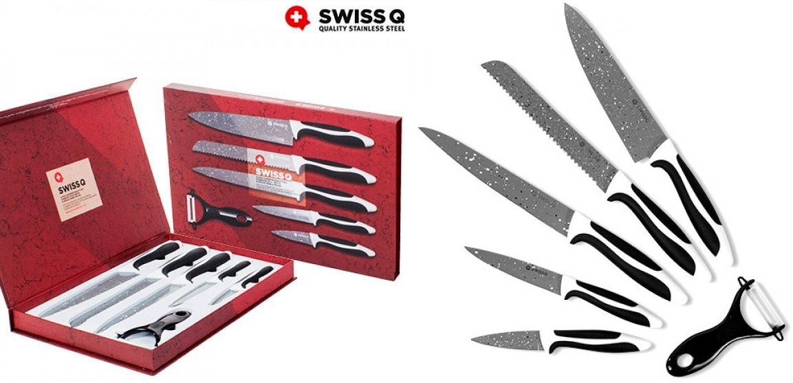coffret couteaux de cuisine couteau swiss q qualit ustensile