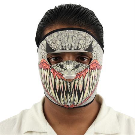 Masque en néoprène - Design Baraka de Mortal Kombat