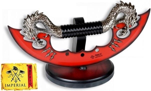 Arme dague décoration 28cm Dragon - couteau IMPERIAL