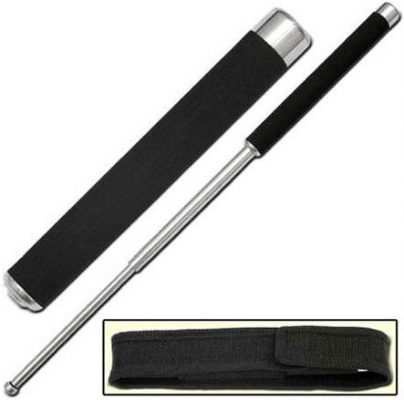 Matraque télescopique 64cm confort - Baton acier