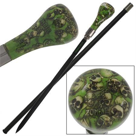 Canne épée 94,5cm de marche - Zombie Killer