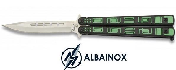 Balisong couteau papillon 23cm Matrix - ALBAINOX