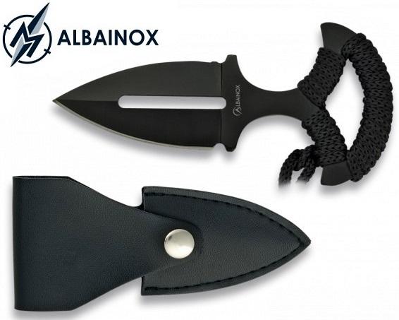 Dague push-dagger compacte 12,7cm ALBAINOX
