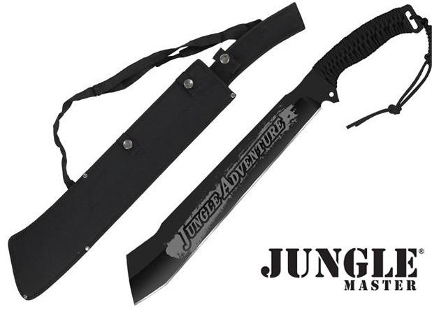 Machette jungle adventure 63cm full tang noir coupe coupe - Achat machette coupe coupe ...