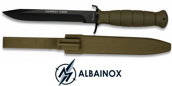 Couteau poignard style baïonnette 29cm - Commando