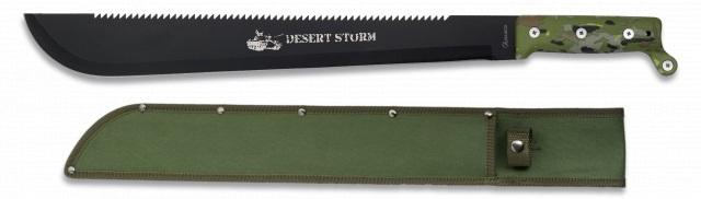 Machette Desert Storm 55cm tactique - Full tang